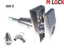 LOF OF 4 SIZE 2 T Handle 360 Degree Turn Vending machine + Pop up Tubular Lock