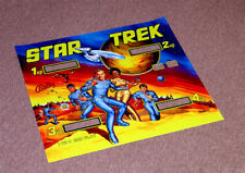 Bally STAR TREK Pinball Machine Translite