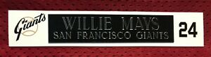 WILLIE MAYS  NAME PLATE FOR HELMET / FOOTBALL/ CARD /JERSEY / PHOTO