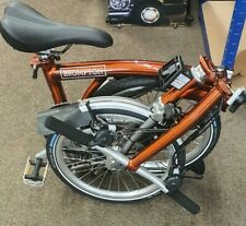 Brompton Flame Lacquer S6L X Titanium Fold bike 🌎World📦📪📩 P&P Dyno Lights