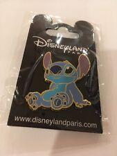 Disneyland Paris Stitch Puppy Sitting Pin Nip