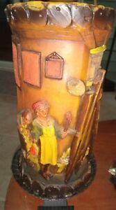 Vintage Diesel Kerze isn't Geschmackmuster Geschutzt  Large Candle with Stand