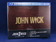 JOHN WICK 3 Parabellum Collector Box Steelbook Exclusive Bluray Keanu Reeves