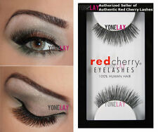 Lot 6 Pairs GENUINE RED CHERRY #205 Therese False Eyelashes Human Hair Lashes