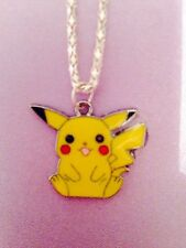 1 retro pokemon pikachu necklace