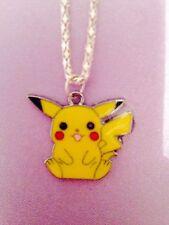 1 retro pokemon pikachu necklace