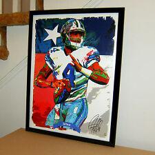 Dak Prescott, Dallas Cowboys, Quarterback, Football, Sports 18x24 Poster w/Coa 1