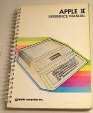 "Original "" Apple II Reference Manual"" 191 pages"