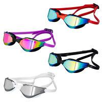 Racing Mirror Clear Swimming Goggles Anti-UV-Fog Swim Glasses For Adult