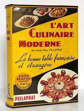 PELLAPRAT. L'art culinaire moderne. Préface de Curnonsky. Kramer 1957