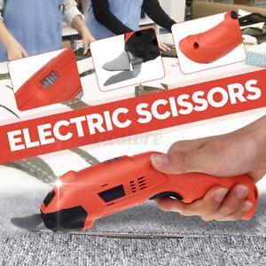 220V Electric Cordless Scissors Tailors Auto Cutter Cutting Machine