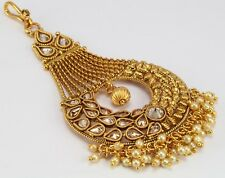 Party wedding belly Dance women fashion jewellery Passa jhoomer Gold Plated  new