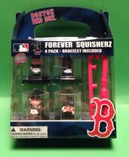 Boston Red Sox Forever Squisherz 4 Pack Bracelet Included New In Box Male/Female