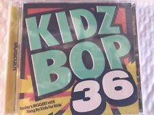 "KIDZ BOP 36 BRAND NEW SEALED FAST SHIPPING ""SUNG BY KIDS FOR KIDS"""