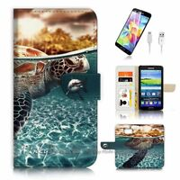 ( For Samsung Galaxy S7 ) Case Cover P3247 Turtle