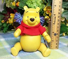 Disney Winnie the Pooh Jointed doll musical Music box Porcelain