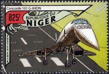 British Airways (BA) CONCORDE 101 (G-AXDN) Airliner Aircraft Stamp (2016 Niger)