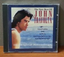 John Travolta - The Very Best Of John Travolta   CD   LIKE NEW   DB1811