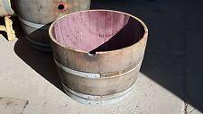 half wine barrel planter great value, LOWEST PRICE ON EBAY!