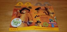 Vintage McDonald's Shrek The Third Puss In Boots Happy Meal Box 2007