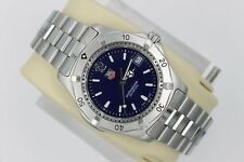 Tag Heuer 2000 Series Classic Professional WK1113 Watch Mens BLUE Mint Crystal