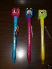 Three Assorted High School Musical 2 TV Image Pens NEW
