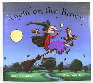 JULIA DONALDSON classic ROOM ON THE BROOM children's paperback story book pb NEW