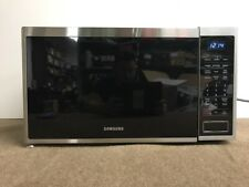 Genuine OEM Samsung Microwave Countertop Oven 1.1 Cu Ft Silver MG11H2020CT READ