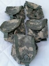 5 Military Hand Grenade Pouch, Army ACU Digital Camo MOLLE II Pouches