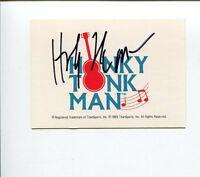 The Honky Tonk Man WWE WWF Wrestler Signed Autograph Photo Card