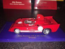 "Alfa Romeo 33.3 SC Turbo - ""Prova"" Test Car - 1 of 1998"