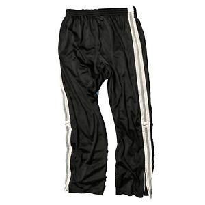 Nike Basketball Black Warm-Up Training Athletic pants Men's XL zip cuff used
