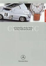 3407MB Mercedes Classic Collection Extra Prospekt D GB 1999 1/99 Modellautos