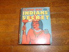 vintage BIG LITTLE BOOK: FLAME BOY AND THE INDIANS' SECRET, nice copy