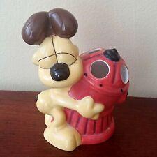 Odie Toothbrush Holder Ceramic Garfield Comics Jim Davis Bathroom Decor Dog