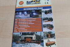 140536) Samasz Schneepflüge Prospekt 01/2011
