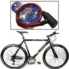 Candados y antirrobos rojo para bicicletas