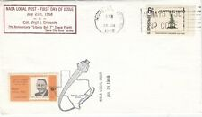 U.S.A. LOCAL POST :1968 NASA LOCAL  POST  5c on  FD cover