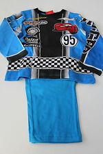 Pyjama Set Schlafanzug Jungen Cars Lightning McQueen blau Gr. 98 104 116 128 #75
