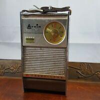 Vintage Arvin transistor radio retro not working parts repair hipster decor