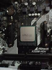 ASROCK A320M-HDV R4.0 (AM4) MicroATX Motherboard + Ryzen 3 2300X CPU COMBO