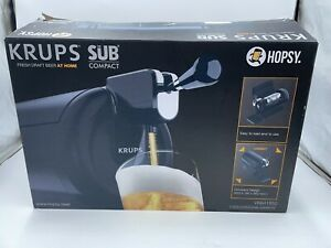 Hopsy Krups Home Beer Cooler Sub Dispenser Tap Keg Draft Machine VB64185