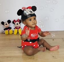 Disney Baby Minnie Mouse Bodysuit Vest 18-24 mths - Babies Costume Outfit