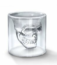 NEW Set of 4 Fred and Friends Doomed Crystal Skull Shotglass FREE SHIPPING