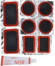 Fahrrad reparatur Set 9tlg Flickzeug Fahrradflickzeug Pannenset Reifenreparatur