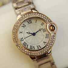 Vintage Fashion Crystal Gold plated LADY  beauty watch - Antique/Fashion Style