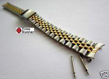 13 mm Woman's Jubilee Two Tone Watch Band Bracelet