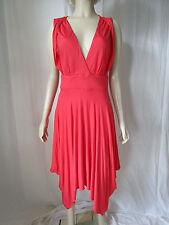 Monsoon V-Neck Patternless Sleeveless Dresses for Women