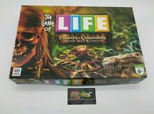 Game of Life Disney Pirates of the Caribbean Dead Mans Chest Board Game Complete