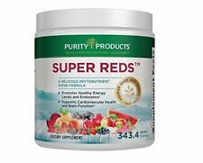 Purity Products - Super Reds Formula 12.11 Oz  30 Day Supply Drink Powder Health